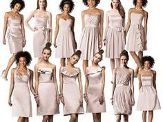 bridesmaid dresses oyster - Google Search