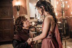 The Bear and the Maiden Fair - Game of Thrones - Season Three: Episode 7 - Tyrian & Shae