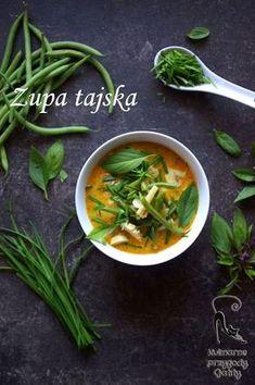 Kulinarne przygody Gatity: Tajska zupa z fasolką szparagową