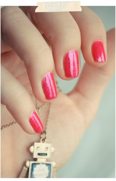 Pink Nails By Pshiiit
