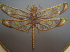 Three things to love: , embroidery, scientific specimen art <3