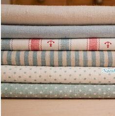 Cotton Linen Fabric Cloth, via Etsy.