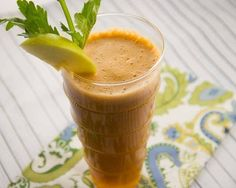 The Goodbye Gout Juice.  If you're prone to gout, the foods you eat, and don't eat, play a key role in keeping your joints pain-free. This juice can help you!  Ingredients: 1 #carrot, 2 green #apples, 3 #celery sticks, 1 #lemon, 1 #cucumber, 1/2 in. #ginger.