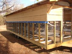 Cage Pics Request - Homesteading Today - ONE AWESOME mobile rabbit barn.