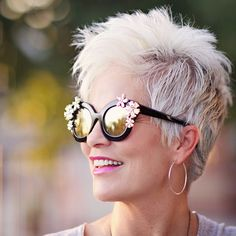 Top 20 White Pixie Haircut 2018 Top 20 White Pixie Haircut 2018 – Reny styles Related posts:Noriko Wigs-Kenzie # will find lots of useful information about how to style short hair women phenomenal hairstyles for women over 50 Hairstyles Over 50, Pixie Hairstyles, Pixie Haircut, Haircut Short, Grey Hair Over 50, Short Grey Hair, Haircut For Older Women, Short Hair Cuts For Women, Natural Hair Styles