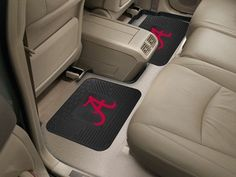 "Alabama Backseat Utility Mats 2 Pack 14""x17"""
