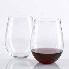 Wine Enthusiast 'U' Stemless Cabernet / Merlot Wine Glass (Set of Wine Supplies, Merlot Wine, Red Wine Glasses, Wine Glass Set, Beer Mugs, Fine Wine, Wine Gifts, Wine Drinks, Wine Tasting