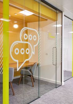 Creative office Room - Goodyear Dunlop Office Fit Out. Corporate Office Design, Office Wall Design, Modern Office Design, Office Interior Design, Office Interiors, Office Designs, Office Branding, Corporate Offices, Best Office
