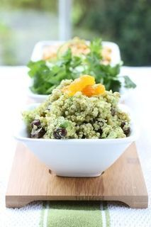 Tex Mex Quinoa Salad with Cilantro, Lime and Apricots