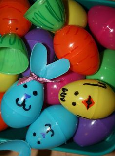 Easter Egg Buddies -- fun, simple and inexpensive!