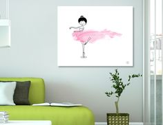 «Tiny Dancer», Limited Edition Acrylic Glass Print by Holly Hatam - From $99 - Curioos
