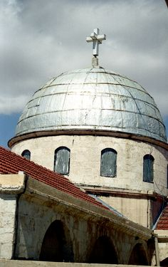 Church detail, Damascus, Syria...Jews, Christians and Muslims have always live peacefully in Syria...