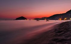 tramonto ai maronti - Isola d'Ischia