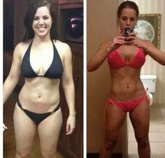 Isagenix, 30 day transformation. before after picture, Tina's 18 day challenge. BIGWIG Isa Life