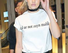 >> Click to Buy << lolur not zayn malik T-Shirt Causal Cotton Tumblr Tees Aesthetic O-Neck Women Tops Funny Letter Trendy T Shirt Outfits Shirts #Affiliate