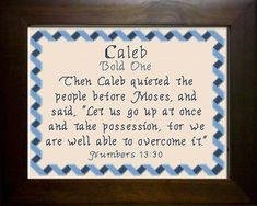 Name Blessings - Caleb2