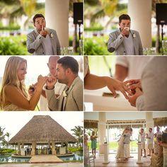 hard rock punta cana wedding. {thalita + jack} gazebo.