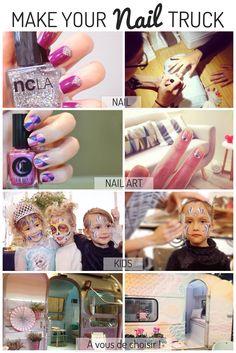 Privatisez le Nail Truck by GLOSS'UP Beauty Van, Les Nails, Nail Art, Trucks, Caravan, Truck, Nail Arts, Art Nails, Cars