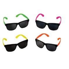 Amazon.com - 12 Pairs Neon 80's Wayfarer Sunglasses Kids Teen Party Favors