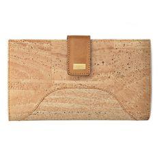 Kork Portemonnaie «Hipica» gold von Artipel – Nachhaltiges Korkprodukt Wallet, Gold, Bags, Fashion, Accessories, Vegan Products, Vegan Fashion, Pocket Pattern, Fanny Pack
