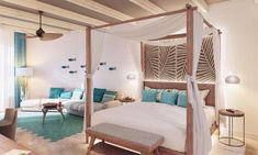 Punta Cana Beach, Punta Cana Wedding, Dreams Resorts, Vacation Trips, Vacations, Photo And Video, Bedroom, Luxury, Travel Agency