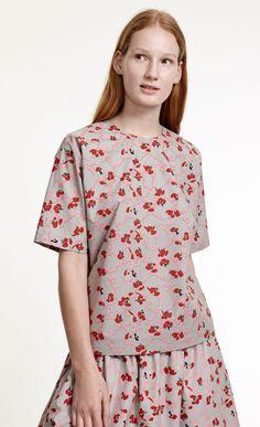 Ottfrid Ruusuruutu  shirt