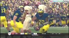 The Central Michigan Chippewas VS The Michigan Wolverines In A NCAA Football 10 Football Match This video showcases Gameplay of The Central Michigan Chippewas VS The Michigan Wolverines In A NCAA Football 10 Football Match