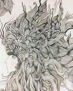 Я понимаю что скетчбук в клеточку это полный отстой. Но мой такой любимый что не могу остановится.  Друзья всем хороших выходных и со старым новым годом! Понятно только россиянам)  #sketching #sketch #drawing #pencil #pencildrawing #scetchoftheday #scetchbook #artline #drawingoftheday #pen #artwork #artdesign #blackandred #micronpen #illustration #fabercastell #artist #instaart #elislisart #artshering #скетч #скетчбук #скетчинг #набросок #скетчбукручнойработы #скетчдня #doodle #zentangle