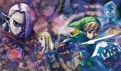 1352x800 High Resolution Wallpaper = the legend of zelda skyward sword
