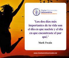 Feliz inicio de semana y vamos con fuerza!!!  #Inspiración #motivacion #motivacionconproposito #charlasmotivacionales #conferencista #speaker #conferencistas Mark Twain, Ecards, Movies, Movie Posters, Happy, Frases, Small Talk, Strength, Lets Go
