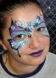 blossom face paint - Google Search