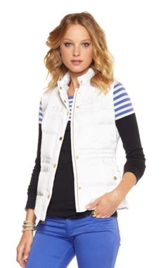Kate Puffer Vest | 73540 | Lilly Pulitzer