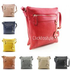 e6c21bb62d Women YC059 Dog Charm Crossbody Ladies Girls Messenger Shoulder Side Bag  Totes  Clicktostyle  Crossbody
