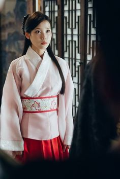 Moon Lovers - Scarlet Heart Ryeo Episode 19 New Stills cr: dramabobo Moon Lovers Cast, Iu Moon Lovers, Korean Traditional Dress, Traditional Dresses, Scarlet Heart Ryeo Cast, Scarlet Heart Ryeo Wallpaper, Iu Hair, Kdrama, Korean Hanbok