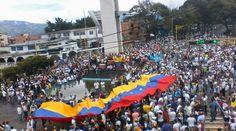 #Foto en #SanCristobal #Tachira en el Marco de la #Protesta Nacional #TomaDeCaracas #Venezuela @CESCURAINA/Prensa en Castellano en Twitter