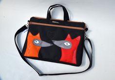 Notebooktaschen - Fox in Love - LaptopTasche - ein Designerstück von ZsurigoWorks bei DaWanda