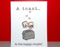 Wedding card funny Funny Wedding Card Wedding by LoveNCreativity