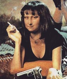 Mona Lisa Pulp Fiction