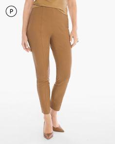 Chico's Women's So Slimming Petite Brigitte Ankle Pants