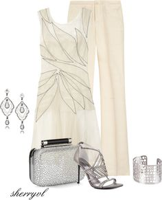 """""""White Yacht Party"""" by sherryvl on Polyvore"""