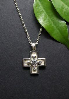 Arrow Necklace, Elegant, Jewelry, Fashion, Rhinestones, Crosses, Silver, Women's, Classy