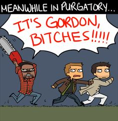 Frickin' Gordon - you know this is probably going to happen. YOU CAN'T CATCH A BREAK, DEAN. #Supernatural