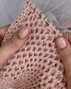 Very Beautiful 😍 Knitting Knittingpa Knittingpattern - Post - Best Knitting Lace Knitting, Knitting Stitches, Knitting Needles, Knitting Patterns Free, Free Pattern, Crochet Patterns, Knitting Videos, Irish Crochet, Crochet Lace