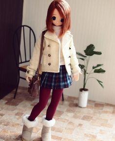 The soft tights manufactured by AZONE intl. I bought this on last weekend. #azonejp #azonedoll #excute #えっくすきゅーと #pureneemo #dollfashion #o44_chiika_5th
