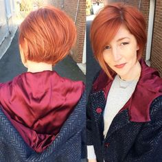 Razor Bob! #dcbumblescene #haircut #rasor #salon #dcstylist #trending #fashion #redhair #designer #design #salonlife #redhead #fashion