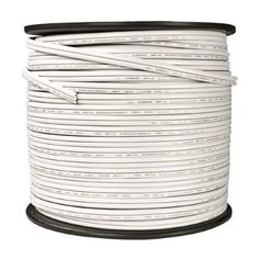 14 best home electrical wire images on pinterest wire cord and white 18 awg spt 2 rated commercial christmas wire by hls 5930 brand hls part no wire 0250 2 wht connection no end plugs total string publicscrutiny Choice Image