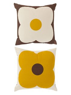 Giant Abacus Reversible Decorative Pillow from Orla Kiely Home on Gilt