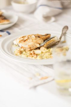 Sea bass with florence fennel and saffron.