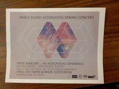 WMUA poster.