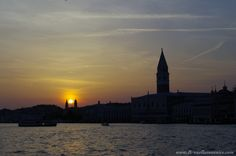 Tramonto Punta della Dogana - Piazza San Marco Venezia